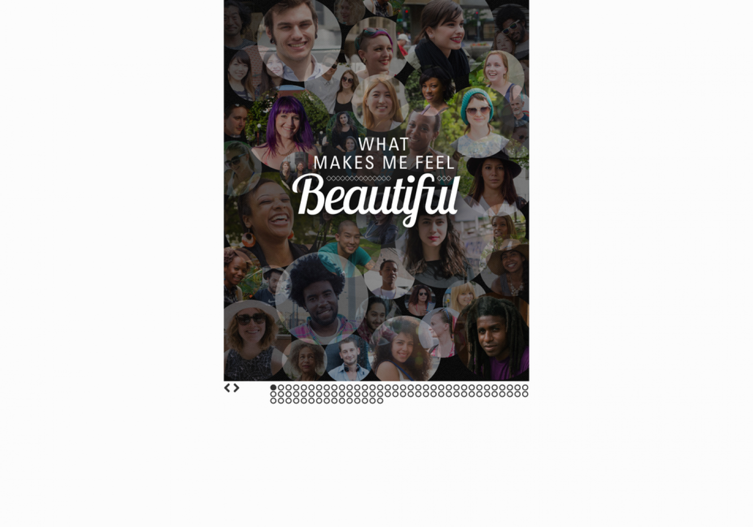 What Makes Me Feel Beautiful Infographic