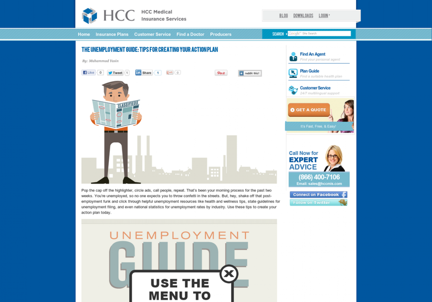 What To Do When Unemployed Infographic