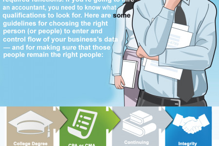What To Look For When Hiring An Accountant Infographic