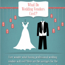 What Wedding Vendors Cost Infographic