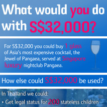 What would you do with S$32,000? Infographic