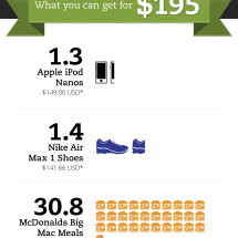 What You Can Get for $195 Infographic