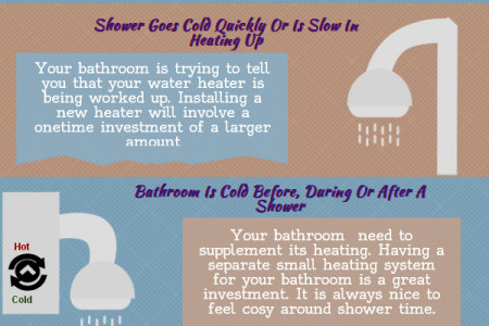 What your bathroom is trying to tell you Infographic