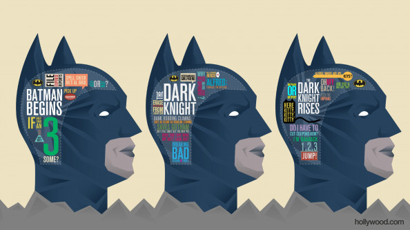 What's Batman Thinking? Infographic