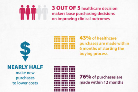 What's Driving Healthcare Decision Makers? Infographic