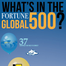 What's in the Fortune Global 500? Infographic