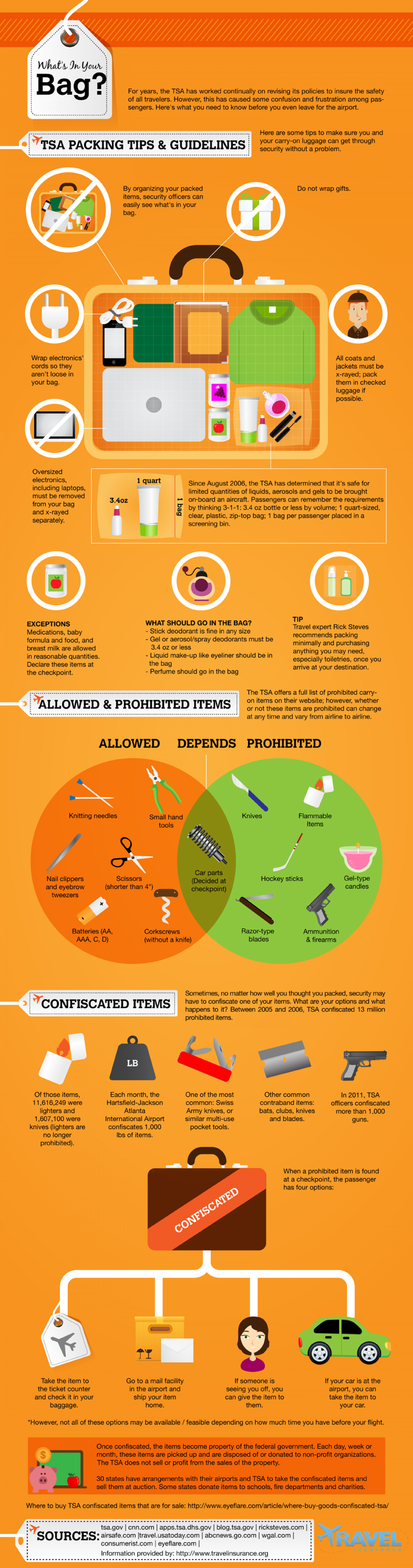 What's in Your Bag? Infographic