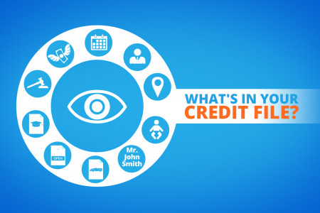 What's In Your Credit File? Infographic