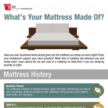 What's Your Mattress Made Of? Infographic