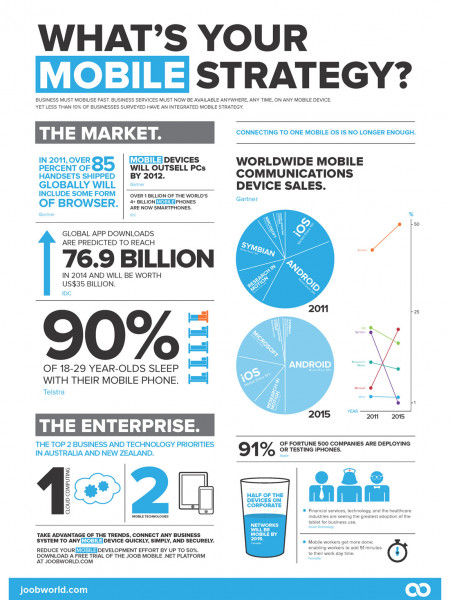 What's Your Mobile Strategy? Infographic