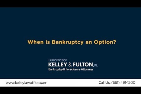 When is Bankruptcy an Option?  Infographic