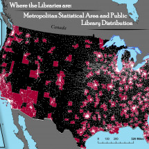Where are the Libraries Infographic