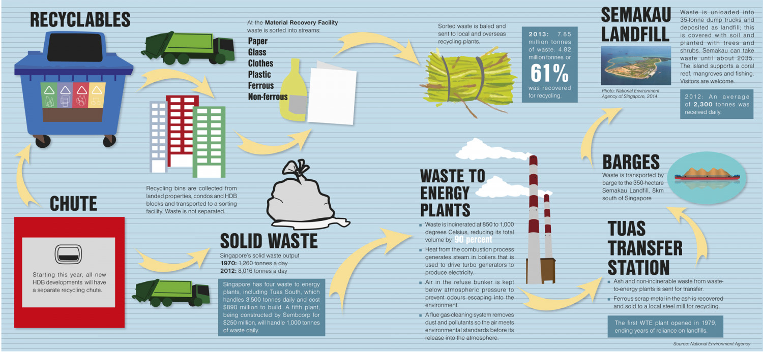 Where Does Your Rubbish Go? Infographic