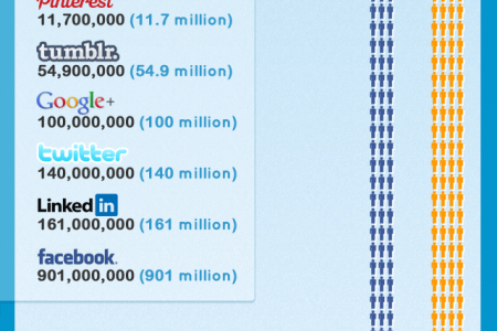 Where is everyone?  Social media users online. Infographic