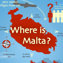 Where is Malta? Infographic