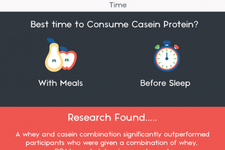 Whey Protein Vs Casein Protein - The Ultimate Guide Infographic