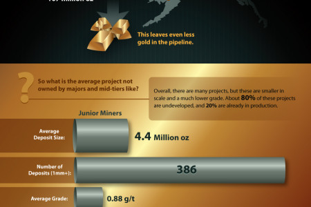 Which Gold Miners Hold the Most Supply? Infographic