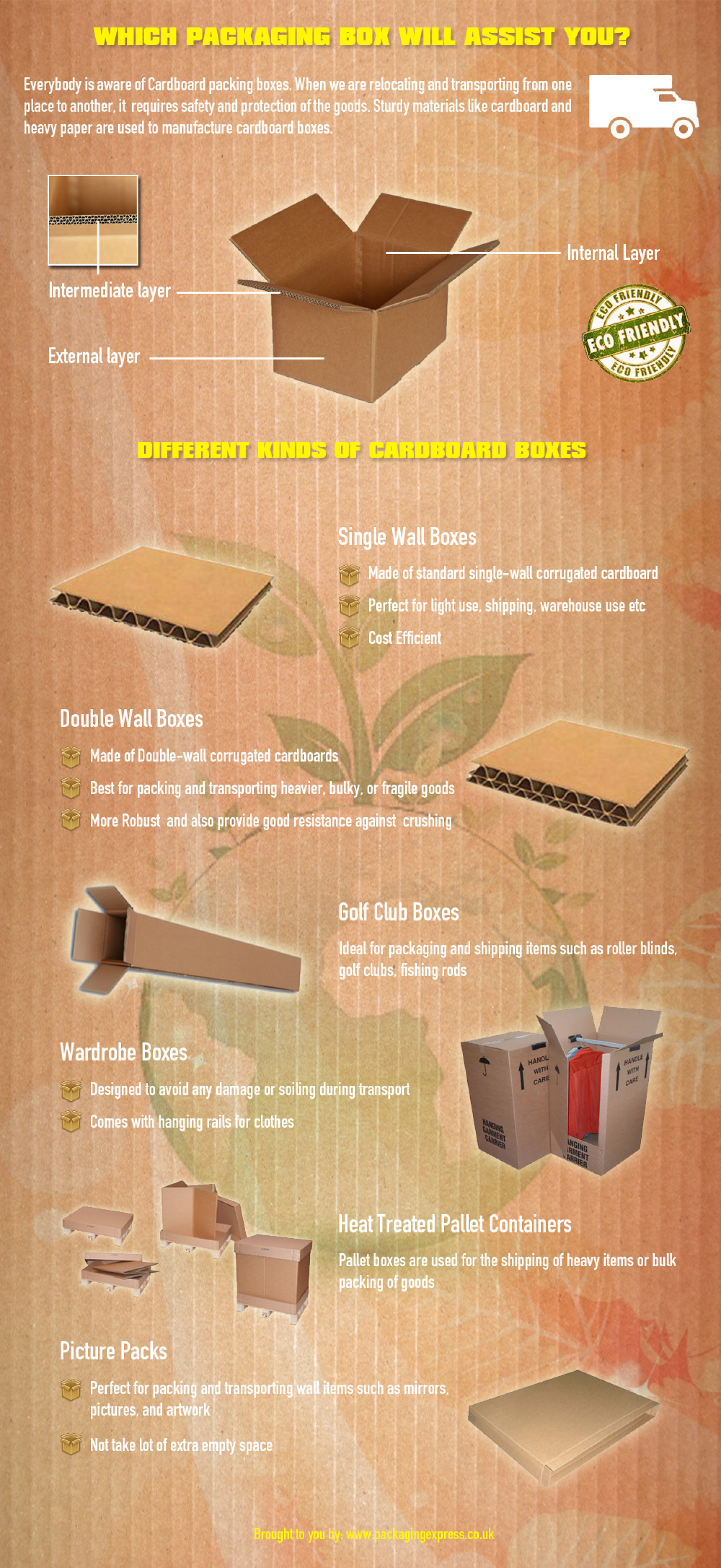 Which Packaging Boxes will assist you? Infographic