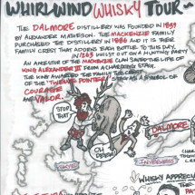 Whirlwind Whisky Tour Infographic