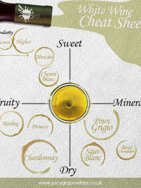 White Wine Cheat Sheet Infographic