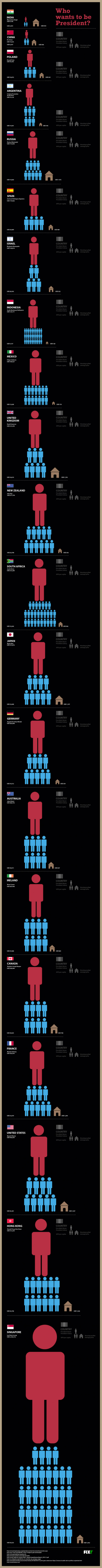 Who Wants to Be President? Infographic