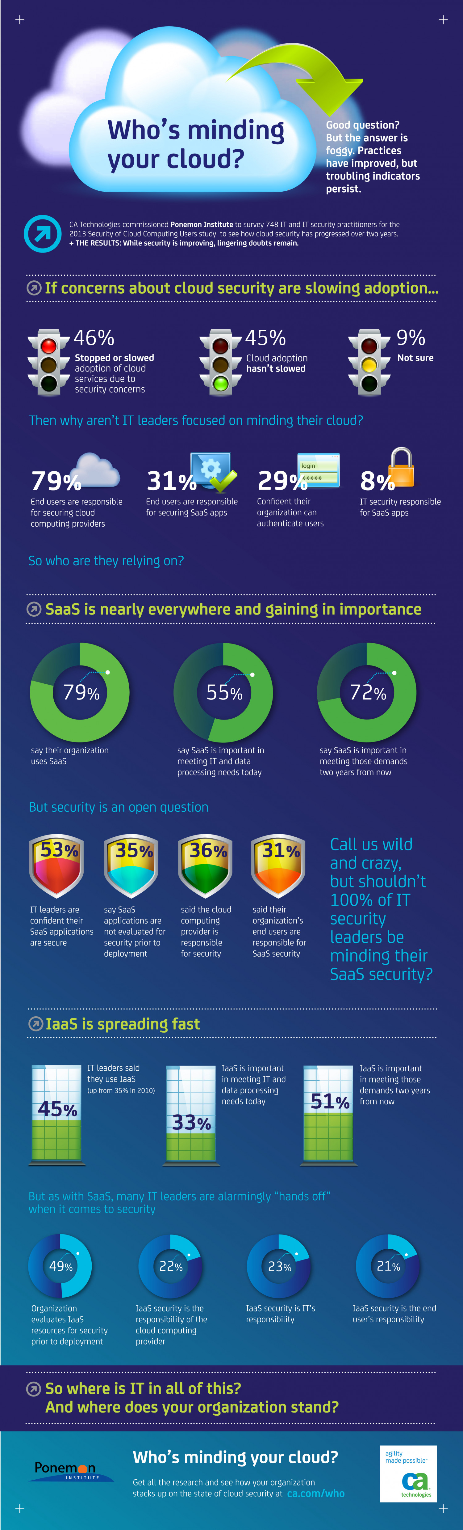 Who's Minding Your Cloud? Infographic