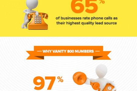 Why Choose Vanity 800 Numbers Infographic