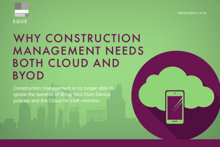 Why Construction Management Needs Both Cloud and BYOD Infographic