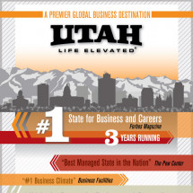 Why Do Business in Utah? Infographic