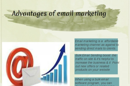 Why do Marketer's Choose Mass Mailing Infographic