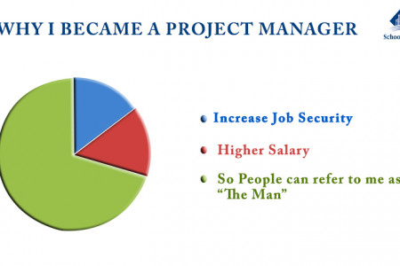 Why I become a project manager Infographic