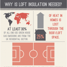 Why Is Loft Insulation Needed? Infographic