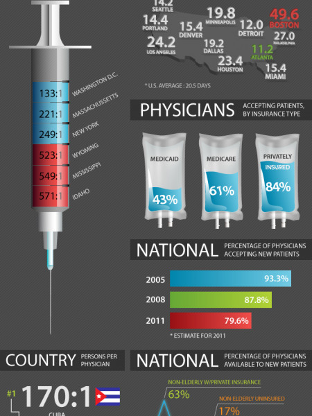 Why It Takes a Month to See a Doctor Infographic