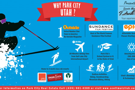 Why Park City, Utah Real Estate? Infographic