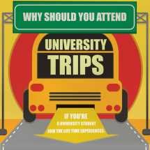 Why should you attend University Trips Infographic