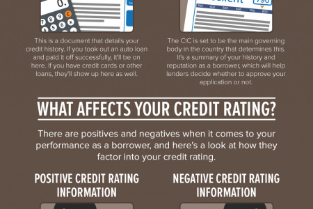 Why You Need a Good Credit History Infographic