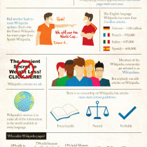 Wikipedia 101 Infographic