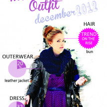 Woman Most Trendy Outfit December 2012 Infographic