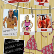 Woman's Swimsuit A Fashion History  Infographic