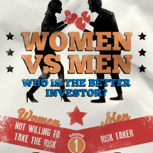 Women vs. Men - Who Is the Better Investor? Infographic