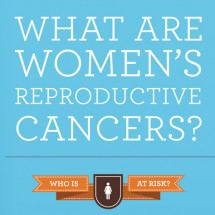 Women's Reproductive Cancers Infographic
