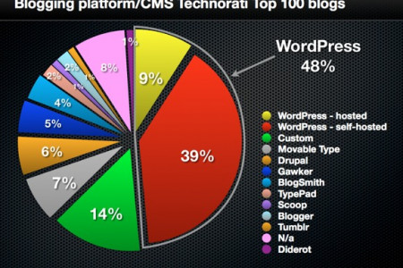 Wordpress CMS Domination Infographic