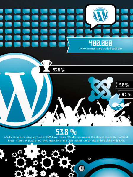 WordPress Domination Infographic