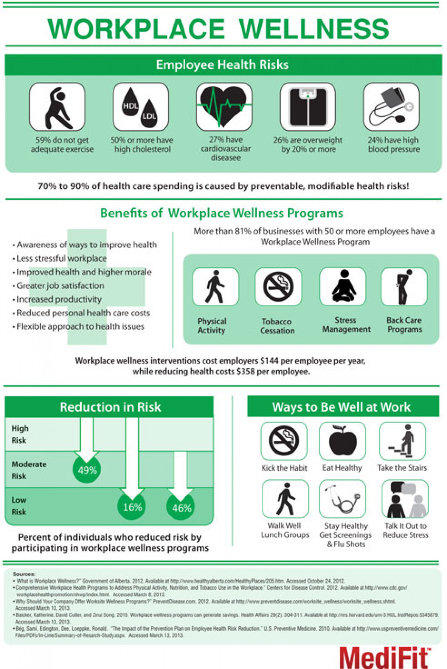 Workplace Wellness Infographic
