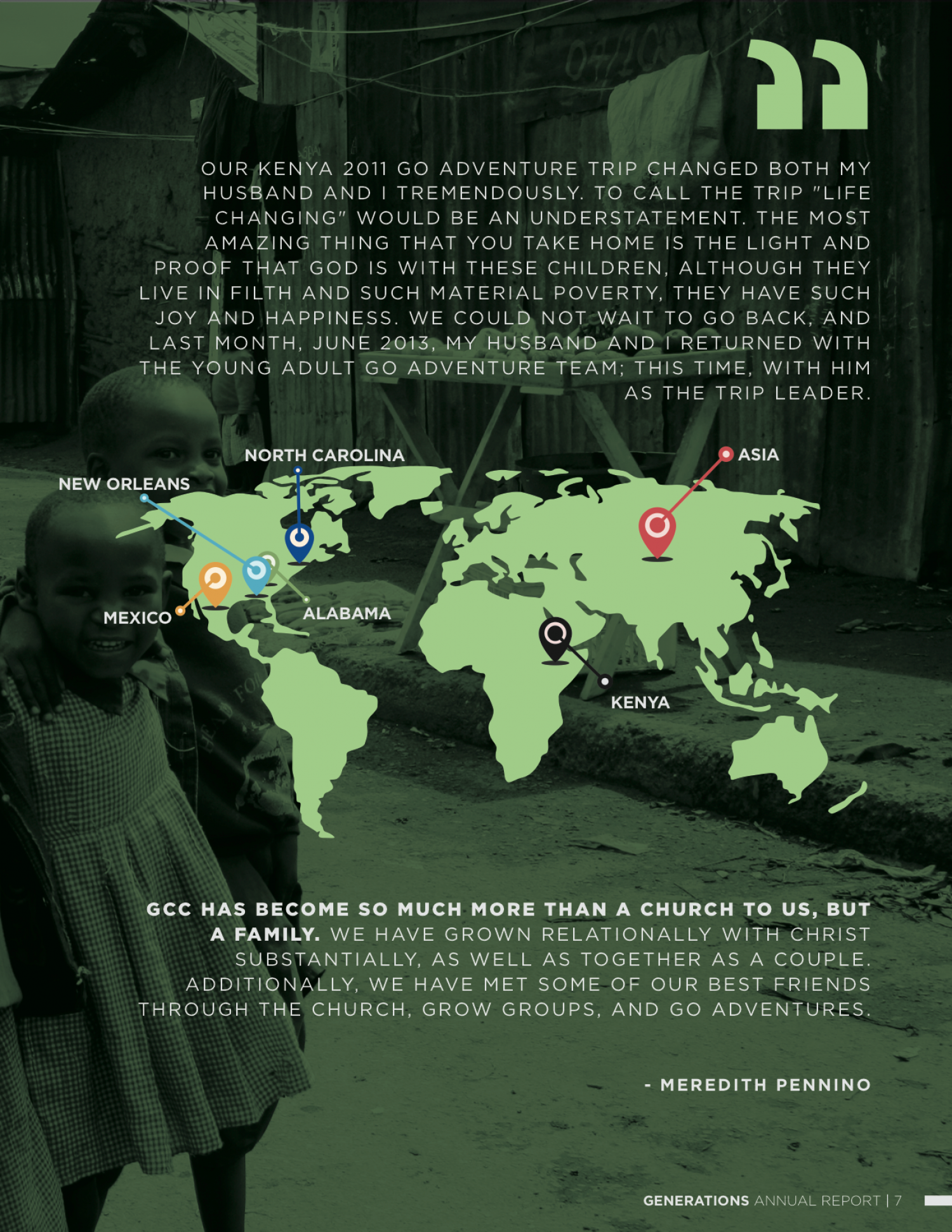 World Missions (2 of 2) Infographic