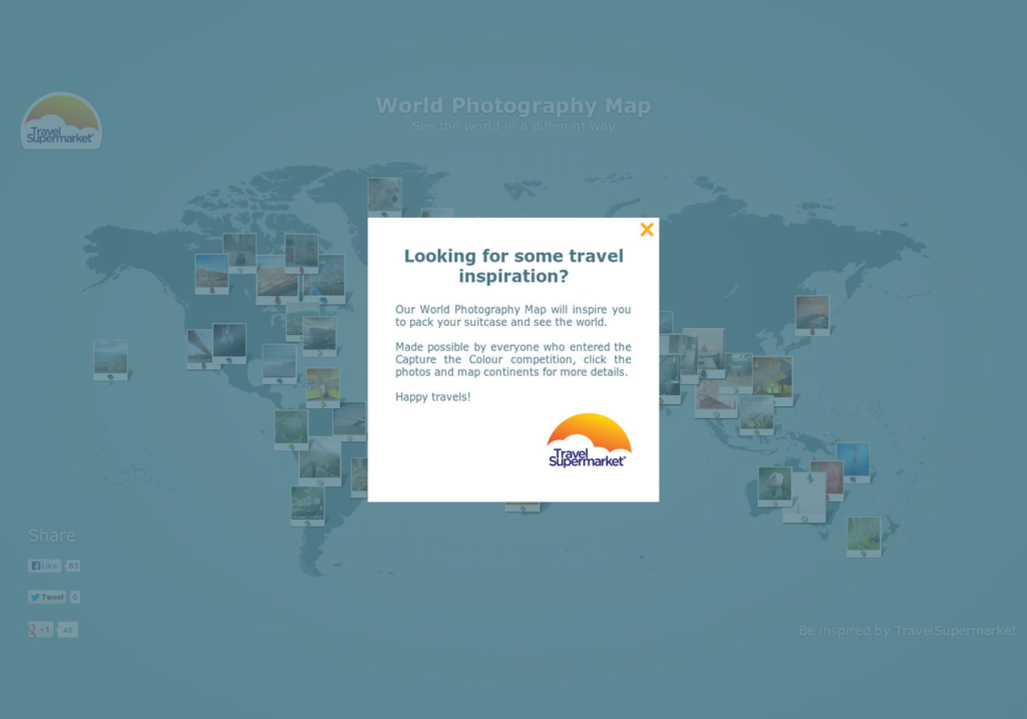 World Photography Map Infographic