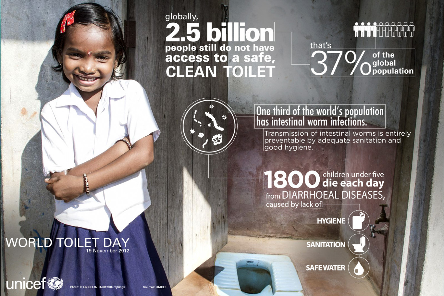 World Toilet Day Infographic