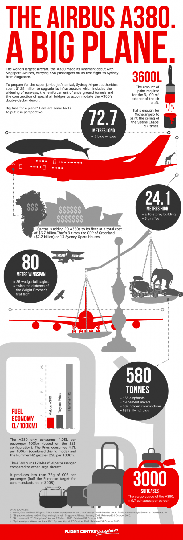 World's Largest Aircraft Infographic