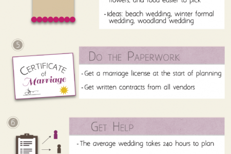 Wow at Your Wedding: 10 Planning Musts Infographic