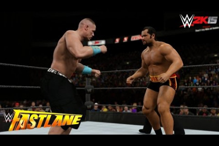 WWE Fastlane 2015 Result Infographic